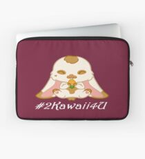 This Bunny is #2Kawaii4U Laptop Sleeve
