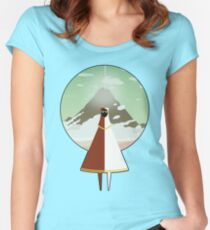 Journey Women's Fitted Scoop T-Shirt