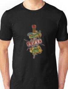 tesla band Unisex T-Shirt