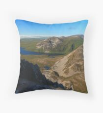 Eastern View From Errigal Throw Pillow