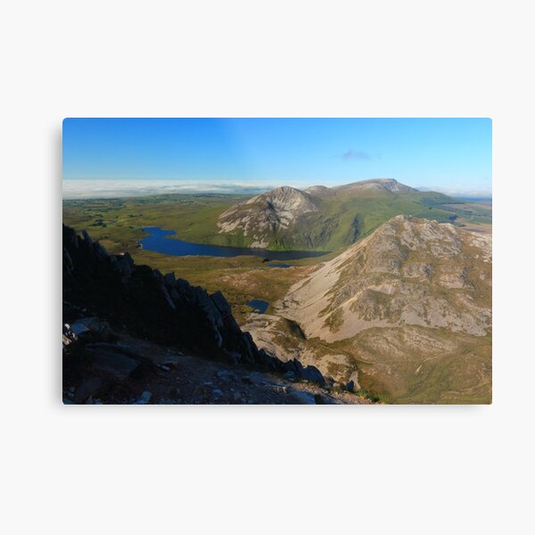 Eastern View From Errigal Metal Print
