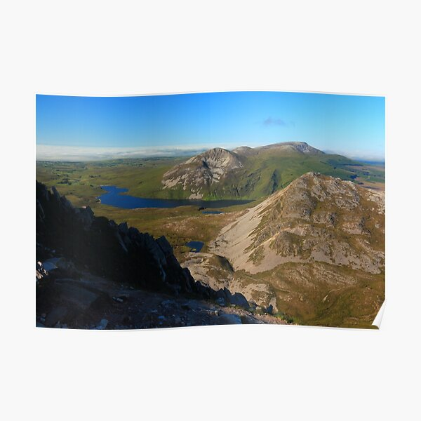 Eastern View From Errigal Poster