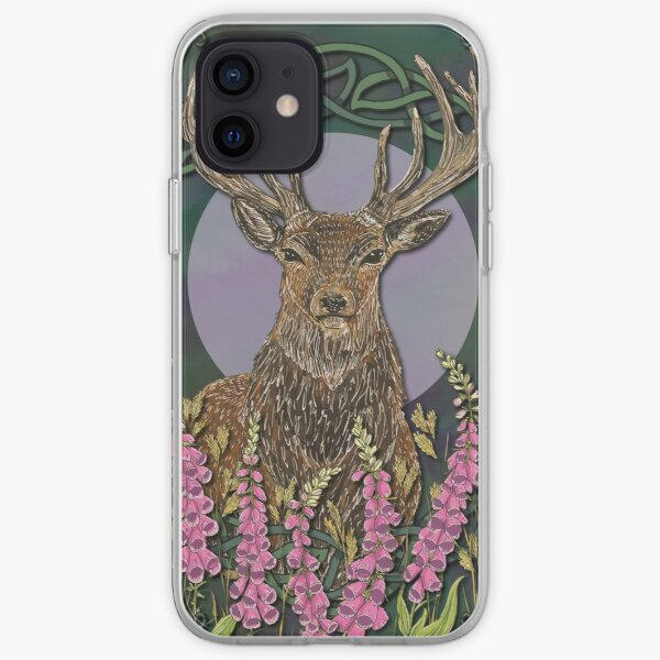 Celtic Stag iPhone Soft Case