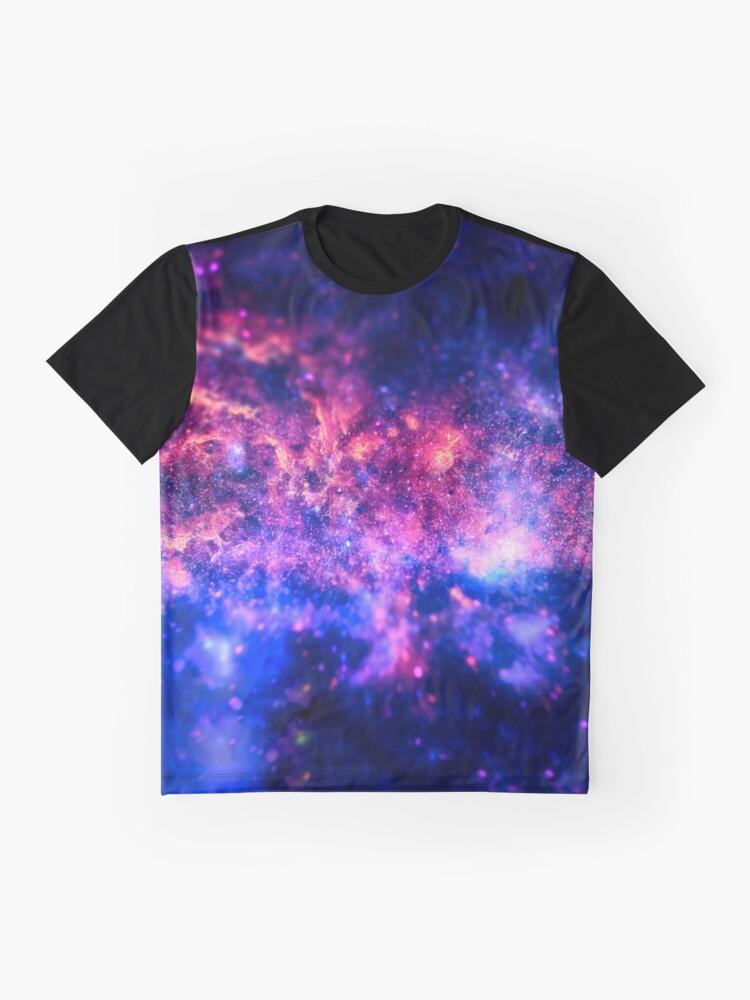 Vista alternativa de Camiseta gráfica El centro del Universo (Región del Centro Galáctico)