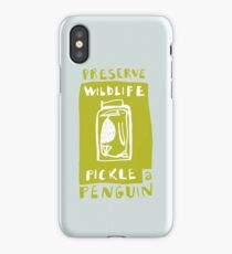 Pickle a Penguin iPhone Case/Skin