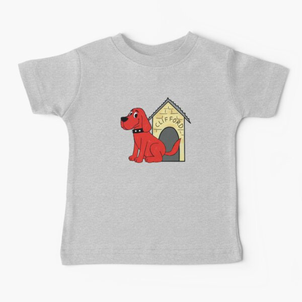 Clifford the big red dog Baby T-Shirt