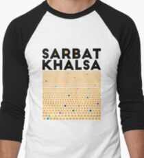 Sarbat Khalsa: Grand Gathering of Sikhs Men's Baseball ¾ T-Shirt