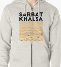 Sarbat Khalsa: Grand Gathering of Sikhs Zipped Hoodie