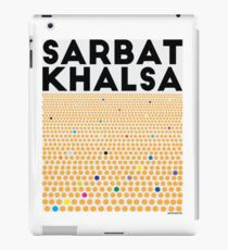 Sarbat Khalsa: Grand Gathering of Sikhs iPad Case/Skin