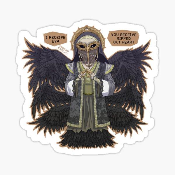 Chibi Mutter Miranda Resident Evil Village Sticker