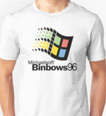 Michaelsoft Binbows 96 Unisex T-Shirt