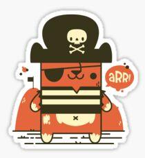 Pirate Kitty Sticker