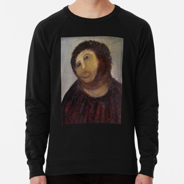Monkey Christ / Monkey Jesus Lightweight Sweatshirt