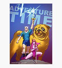Adventure Time Badass Photographic Print