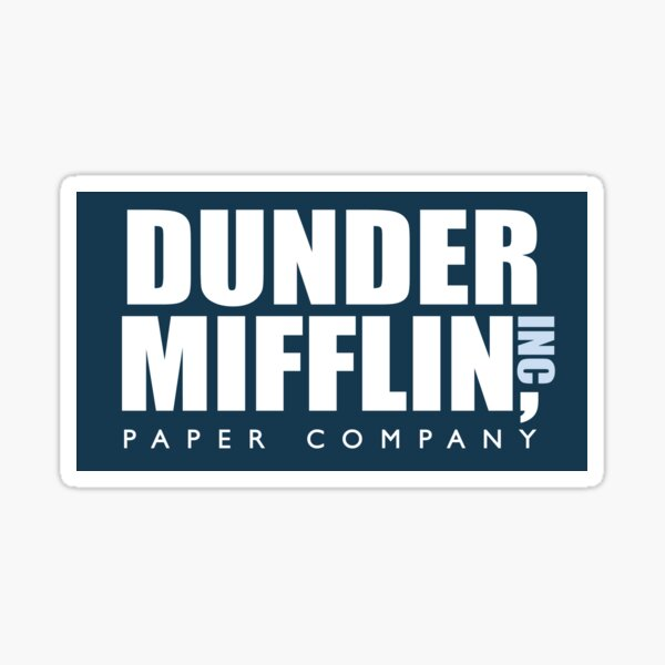 Dunder Mifflin - The Office Sticker