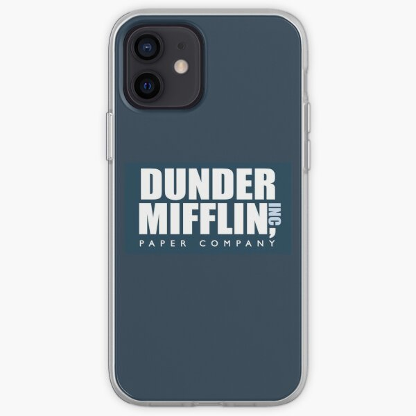 Dunder Mifflin - The Office iPhone Soft Case