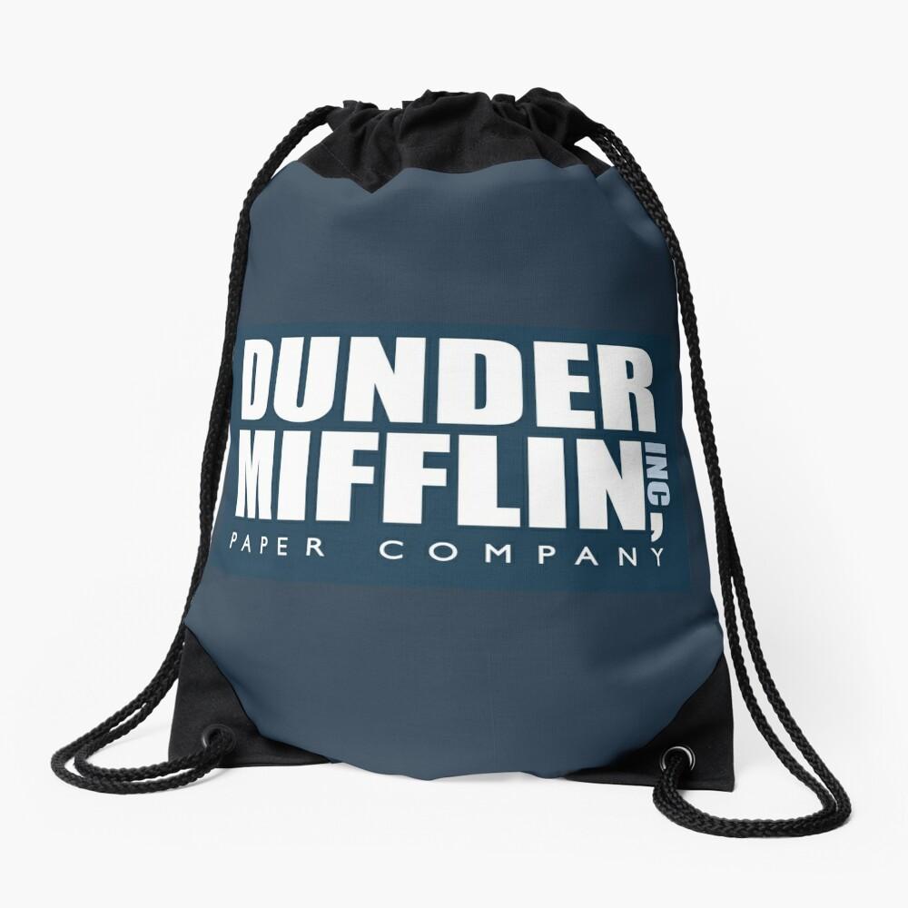 Dunder Mifflin - The Office Drawstring Bag