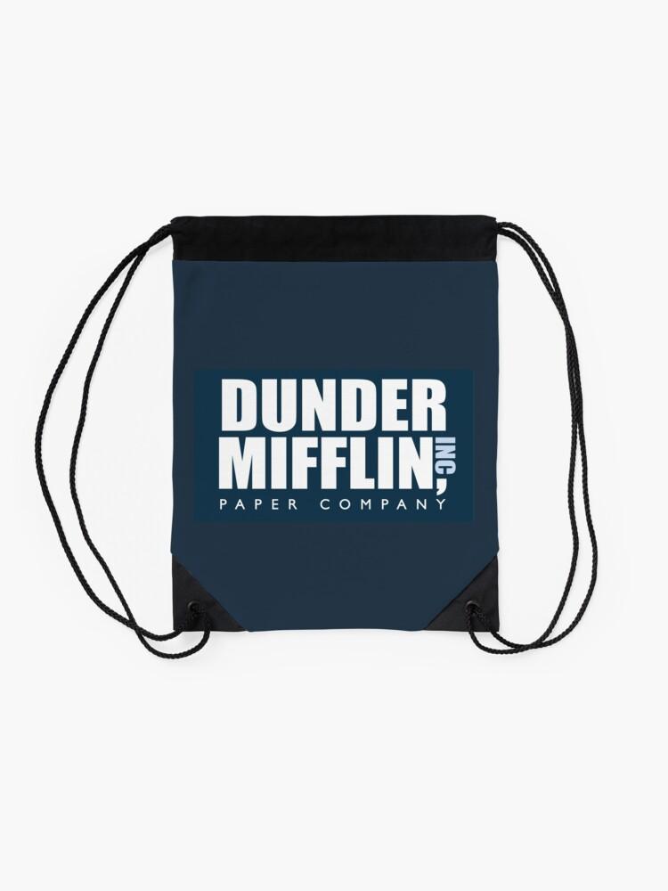 Alternate view of Dunder Mifflin - The Office Drawstring Bag