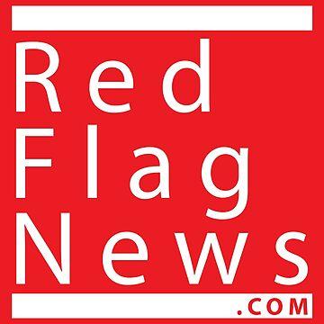 RedFlag Square Logo Sticker by redflagnews
