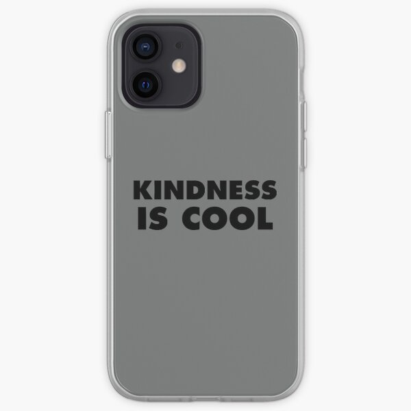 Kindness Is Cool iPhone Soft Case
