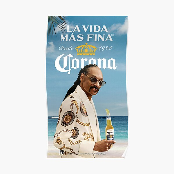La Vida Corona Poster Poster