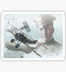 2nd Lt. Frank Luke Jr Sticker