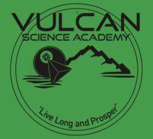 Vulcan Science Academy Star Trek Spock T-shirt Tee | Unisex T-Shirt