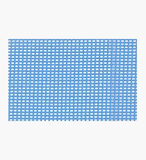 Blue Knit Photographic Print
