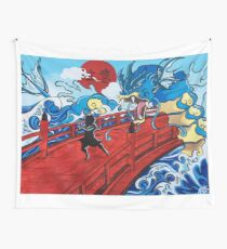 Stay Alert Wall Tapestry