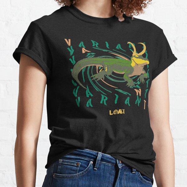 Crocodile Alligator Loki T-shirt classique