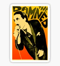 Dave Vanian - The Damned Tour Poster Sticker