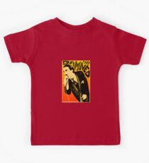 Dave Vanian - The Damned Tour Poster Kids Tee