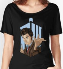 Doctor Who: Tenth Doctor  Women's Relaxed Fit T-Shirt