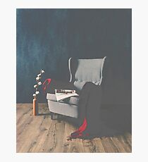 Vintage Chair Photographic Print