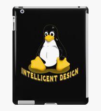 Linux Penguin Intelligent Design iPad Case/Skin