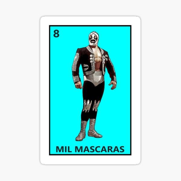 Mil Mascaras Sticker