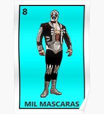 Mil Mascaras Poster