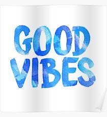 good vibes free spirit laptop sticker Poster