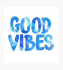 good vibes free spirit laptop sticker Photographic Print