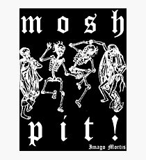 Mosh Pit! Photographic Print
