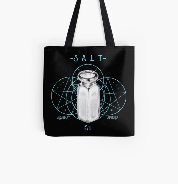 Salt Against Evil Spirits All Over Print Tote Bag