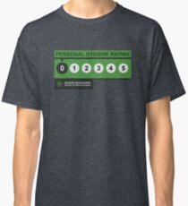 Hygiene Rating - ZERO Classic T-Shirt