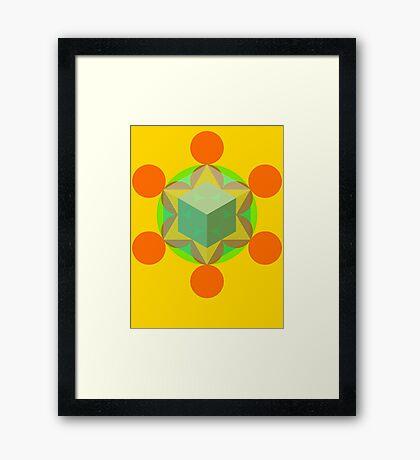 Flower of life 01 Framed Print