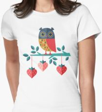 Owl Always Love You Women's Fitted T-Shirt