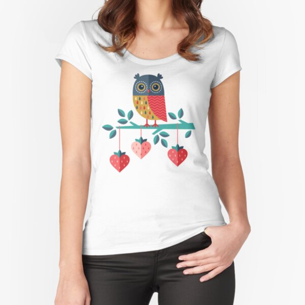 Owl Always Love You Fitted Scoop T-Shirt