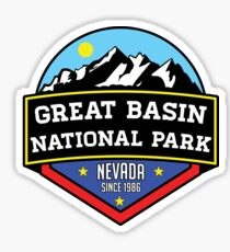 GREAT BASIN NATIONAL PARK NEVADA MOUNTAINS HIKING BIKING CAMPING EXPLORE Sticker