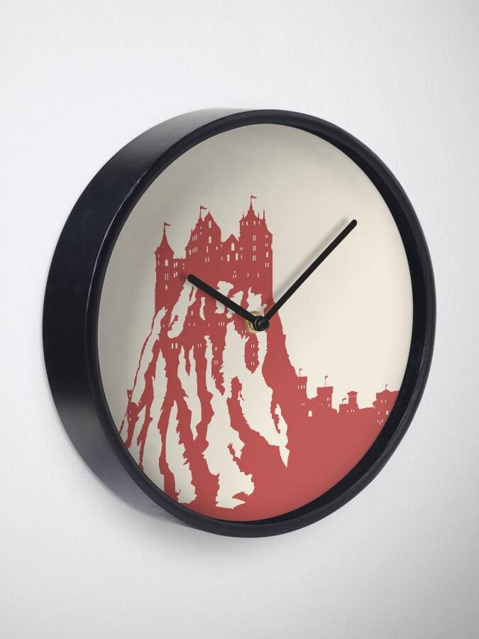 Alternate view of WesterosCraft Lion Rock Castle Clock