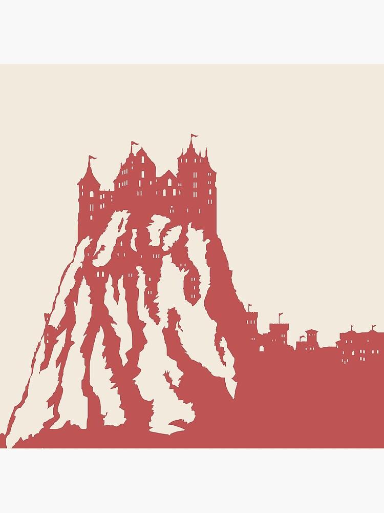 WesterosCraft Lion Rock Castle by westeroscraft