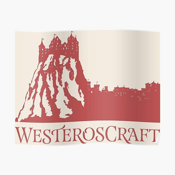 WesterosCraft Lion Rock Castle Poster