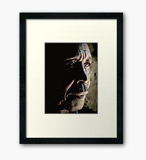 Troubled Framed Print